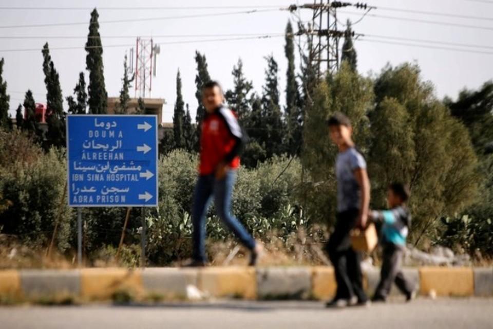 В освобожденную от боевиков Восточную Гуту возвращаются мирные жители