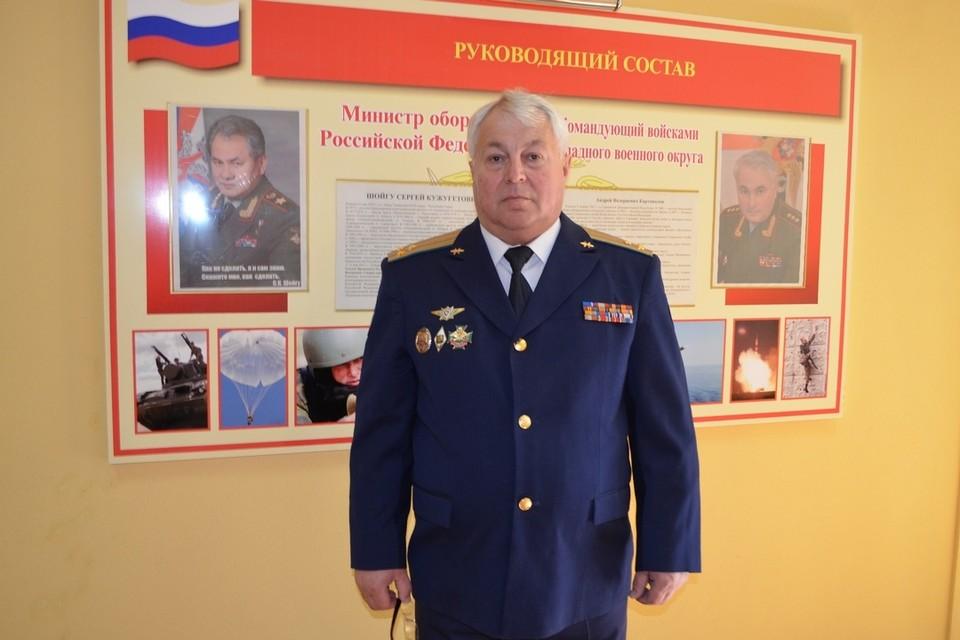 Начальник отделения по работе с гражданами военкомата Липецкой области Александр Бойчук