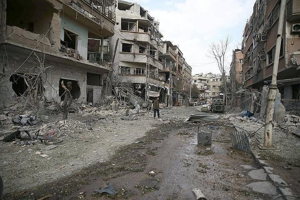 Минобороны РФ: Сирийские врачи в Думе не подтвердили поступление пострадавших о химоружия