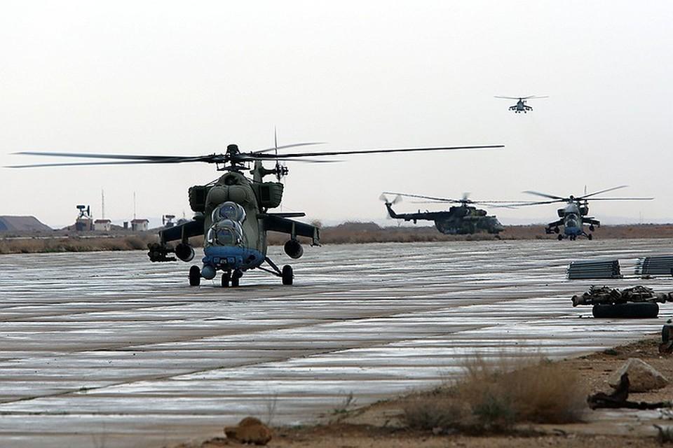 Сирийский аэродром Т-4