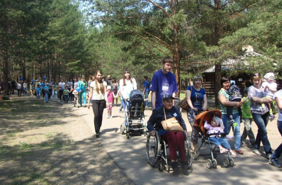 Летом на байкале состоится слет колясочников Фото предоставлено фондом «Общество без барьеров»