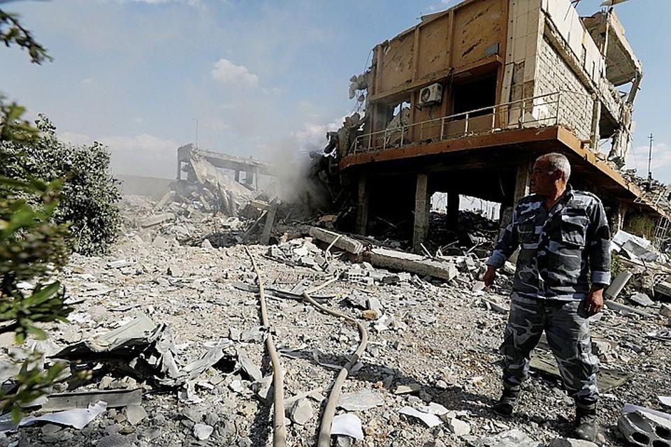 Ракетный удар по Сирии не затронул никаких важных объектов