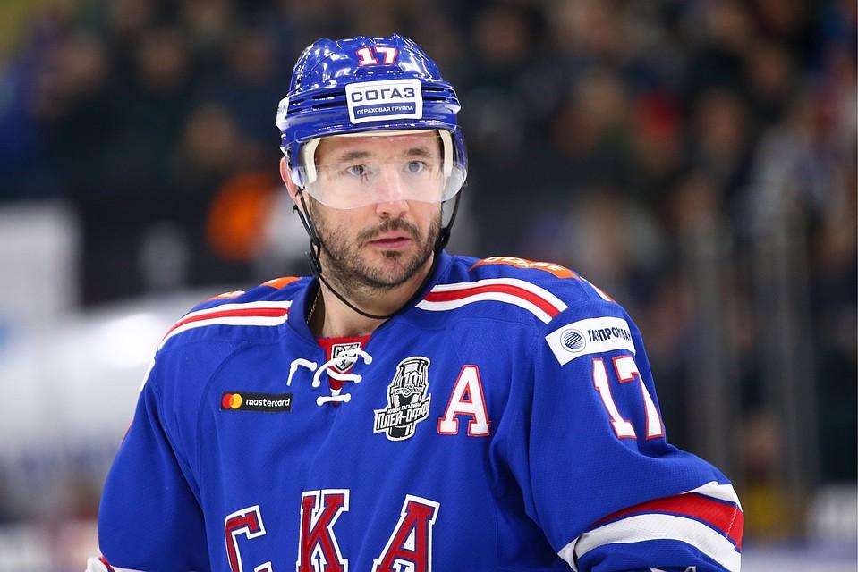 Илья Ковальчук не поедет на ЧМ по хоккею 2018 года. Фото: Петр Ковалев/ТАСС