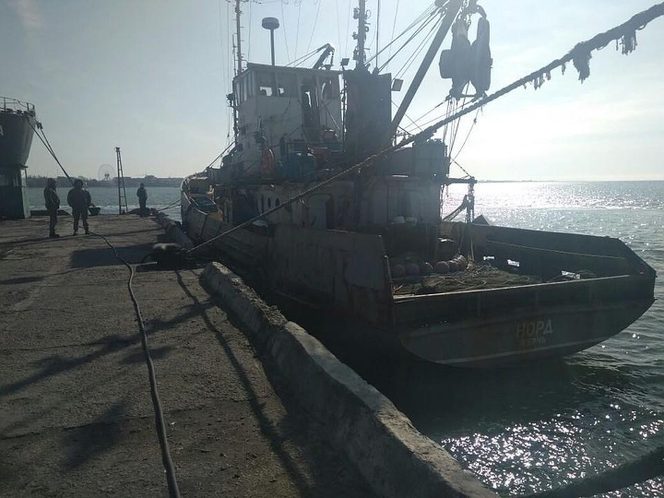 """Российское рыболовецкое судно """"Норд"""""""