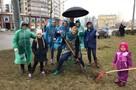 На Ржевке развернули полевую кухню, а в Мурино не дали грабли: как проходит субботник в Петербурге