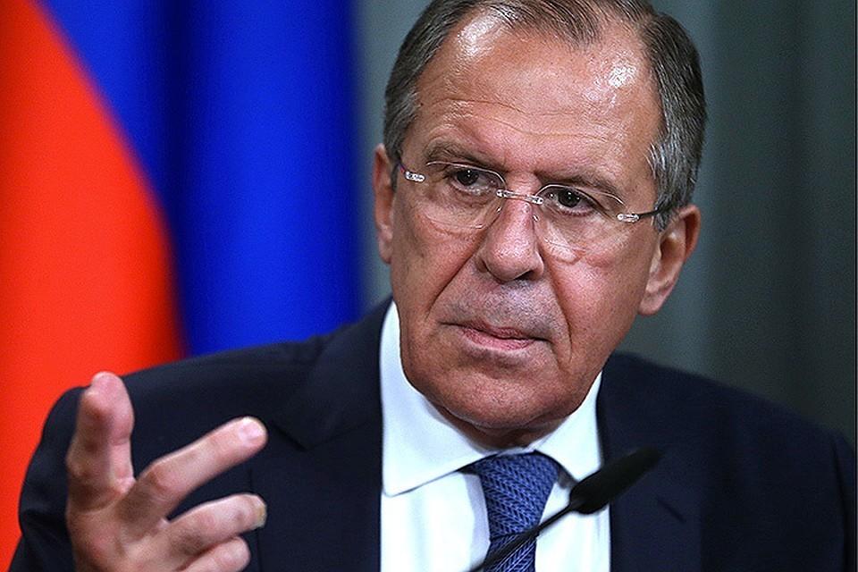 Министр иностранных дел Российской Федерации Сергей Лавров. Фото: Валерий Шарифулин/ТАСС