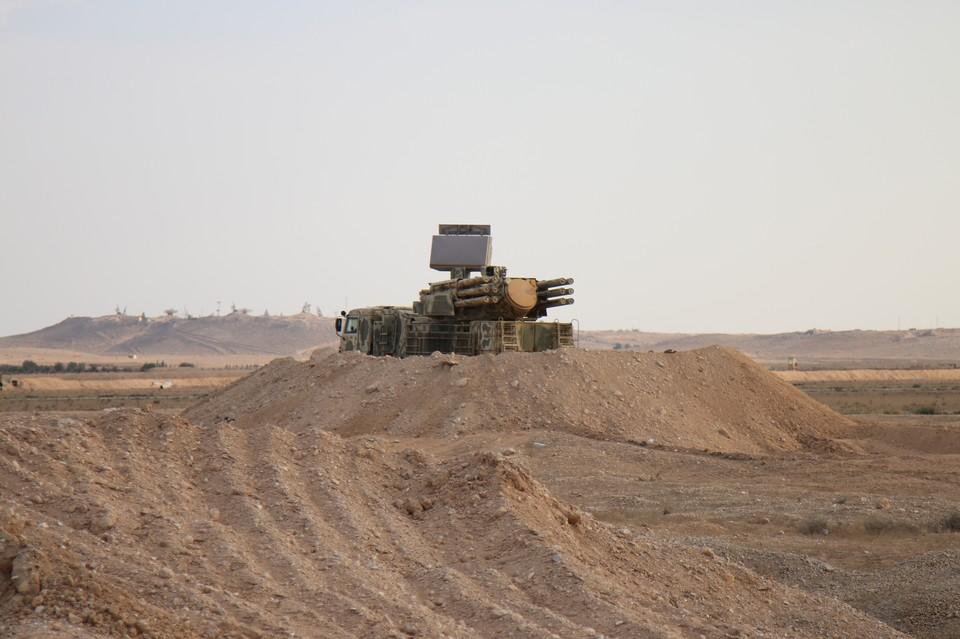 ЗРПК Панцирь-С1 в Сирии