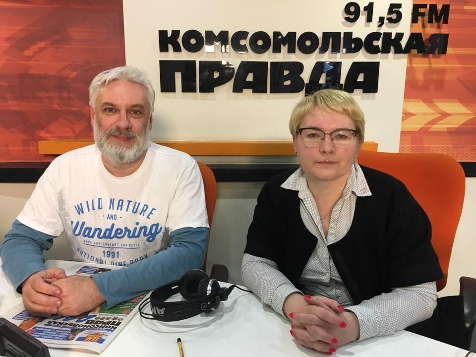 """""""Полезное радио"""" на радио """"Комсомольская правда"""" в Иркутске: как сохранить здоровье вен и что делать, если болезнь уже отравляет жизнь?"""