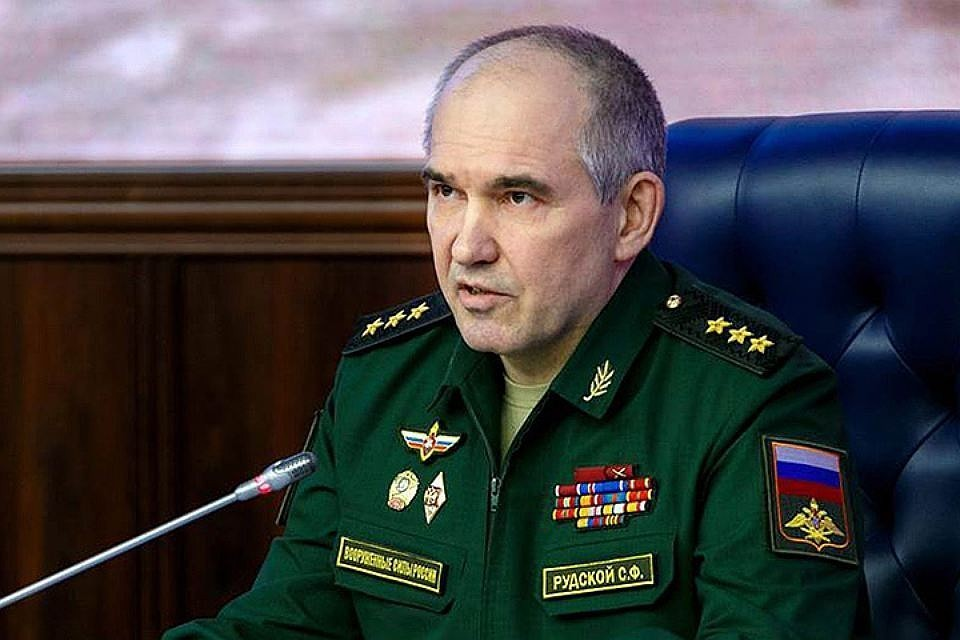 Начальник главного оперативного управления Генерального штаба Вооруженных сил России генерал-полковник Сергей Рудской