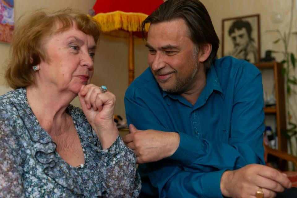Пенсионерка на 23 года старше своего мужа.