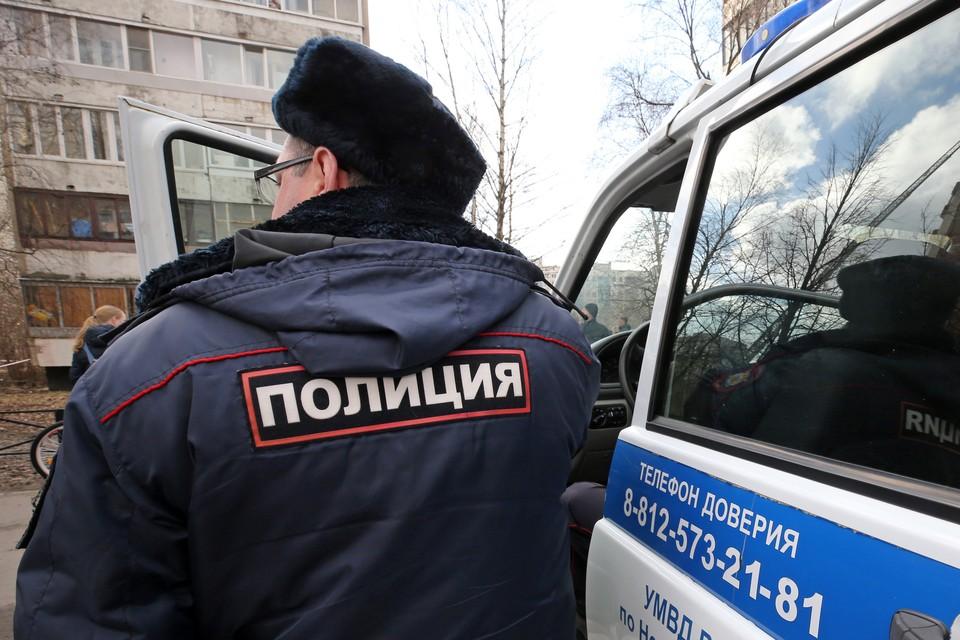 Правоохранители собрали улики с места инцидента и изъяли записи с камер наблюдения. Фото: Петр Ковалев ТАСС