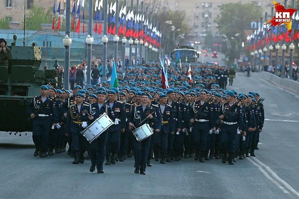 На сайте Минобороны опубликовали схемы парадов ко Дню Победы