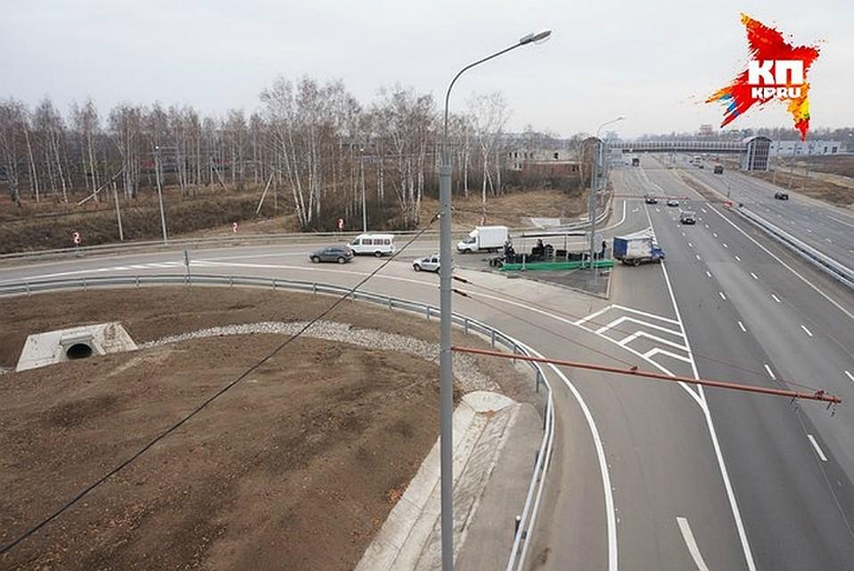 Новые развязки на трассе кола купить натуральный сок алоэ в москве