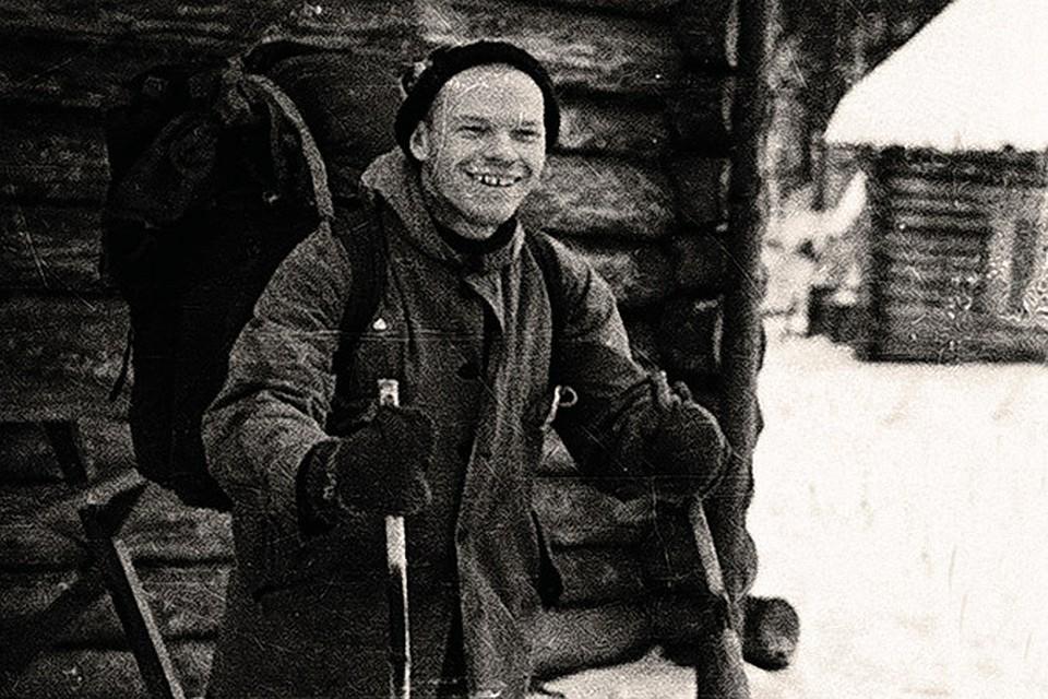 Cтудент 5-го курса Уральского политехнического института Игорь Дятлов во время своего последнего похода.