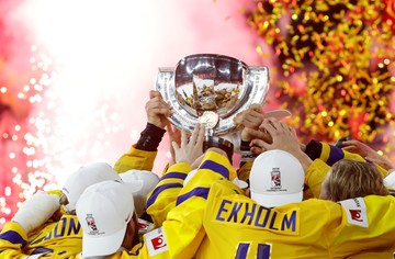 Хоккеисты сборной Швеции второй год подряд выиграли чемпионат мира