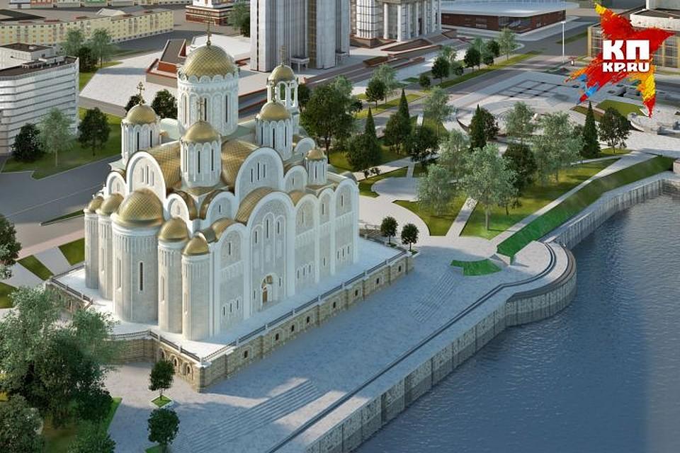 Один из вариантов выполнен в византийском стиле.