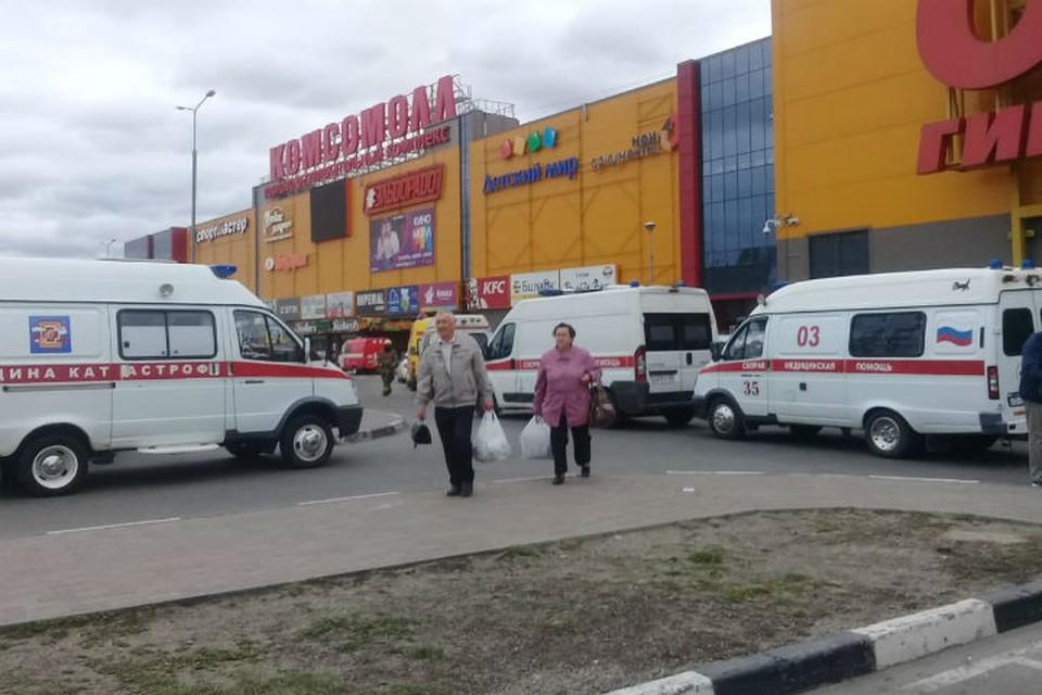 ЧП в ТРЦ «Комсомолл» в Иркутске: из-за взрыва пострадало шесть детей