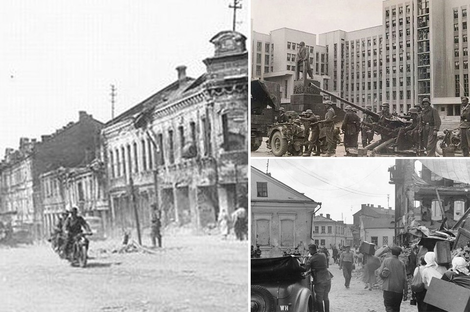 Оккупированный Минск в июне 1941-го