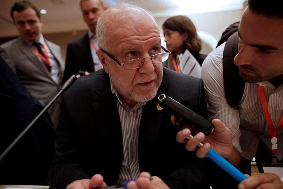 Министр нефти Ирана Бижан Намдар Зангане.