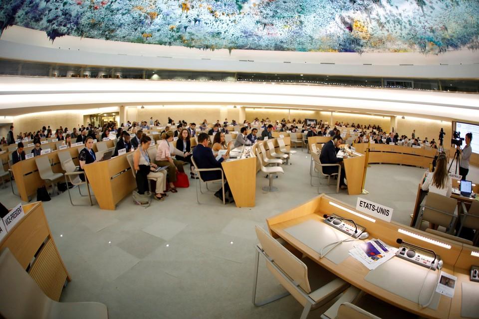 Свободные места делегации США на сессии Совета по правам человека ООН в Женеве
