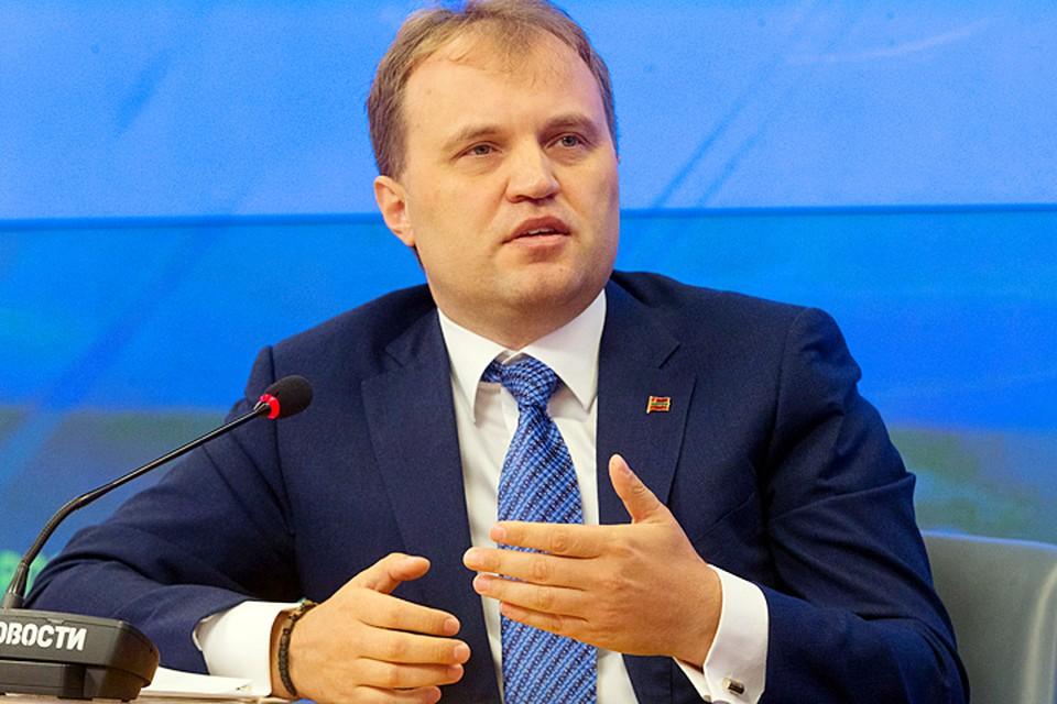 Второй президент Приднестровья Евгений Шевчук