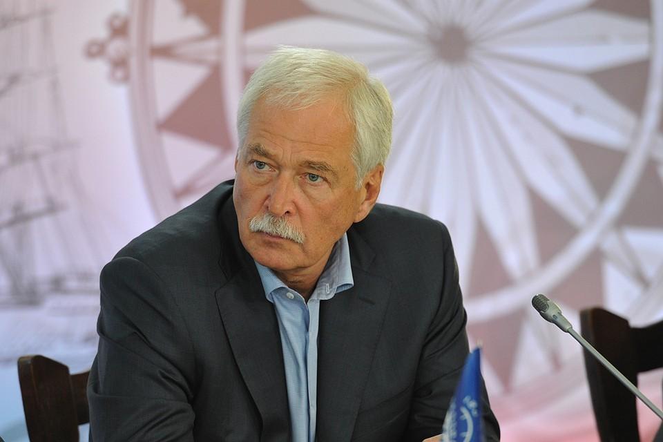 Полномочный представитель России в Контактной группе Борис Грызлов