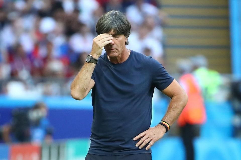 Главный тренер сборной Германии по футболу Йоахим Лев