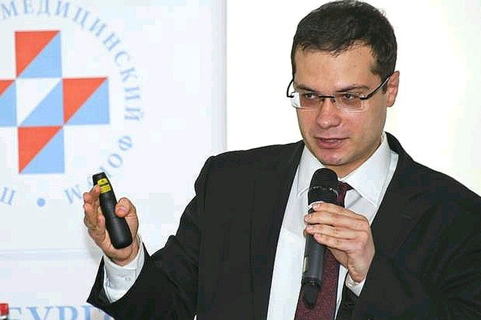 Врач-кардиолог Ярослав Ашихмин