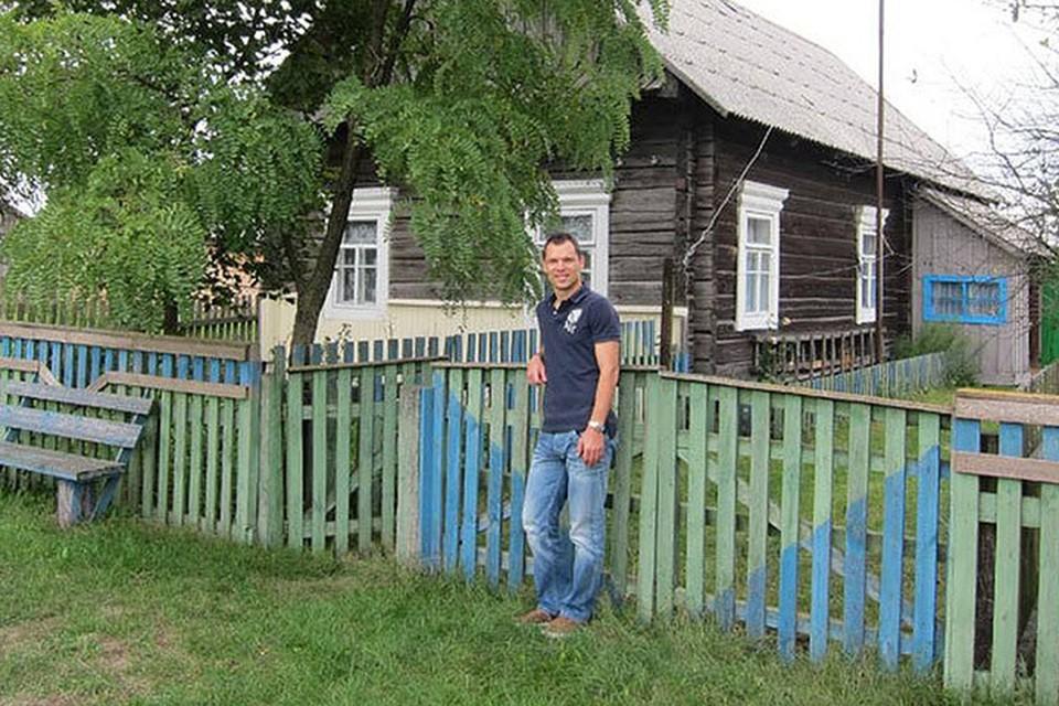 Сергей родился в Москве, но каждый год приезжал в Хоростово к бабушке. Фото: личный архив