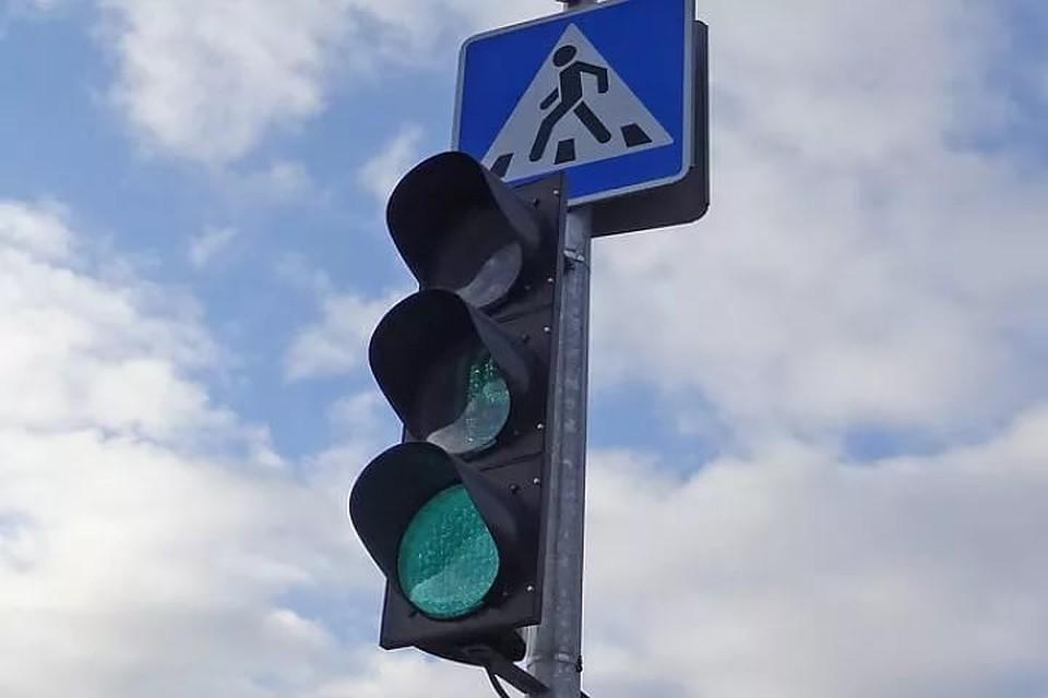 """В Москве установили 2 """"говорящих"""" светофора"""