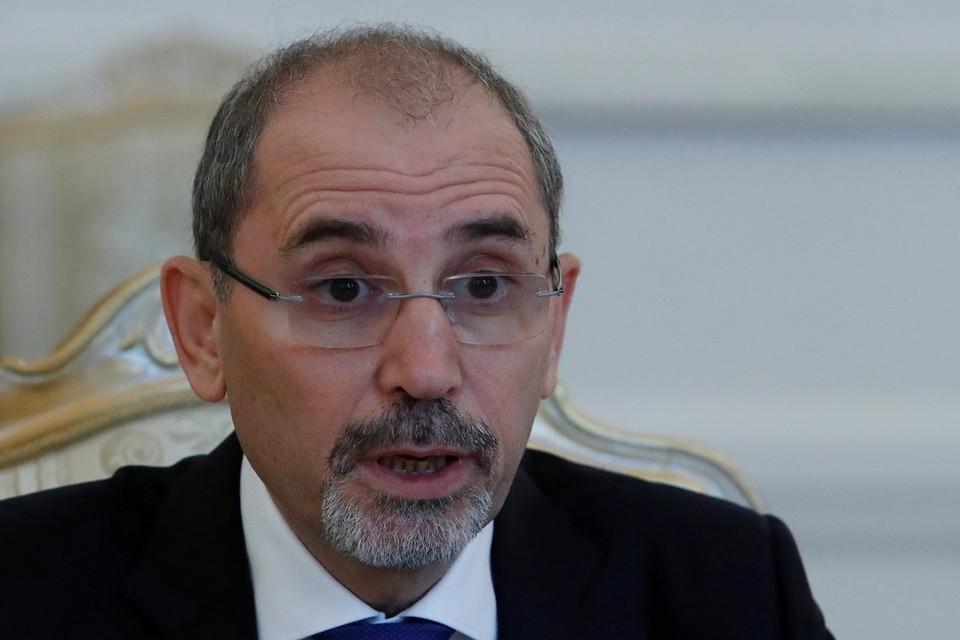 Министр иностранных дел Иордании Айман ас-Сафади во время визита в Москву