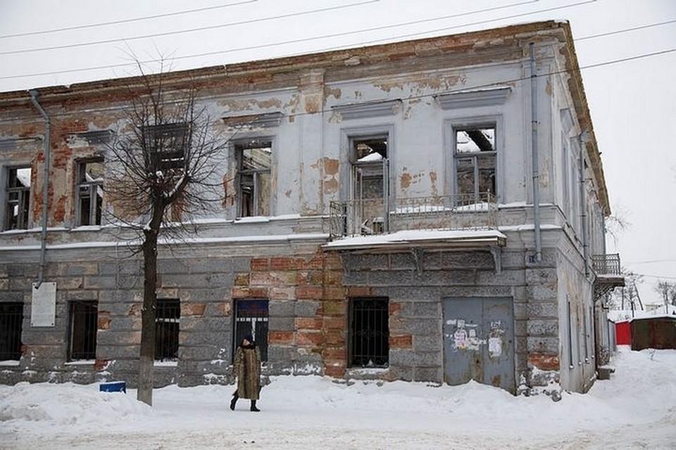 Вот так сейчас выглядит Дом Луковицкого - памятник федерального значения