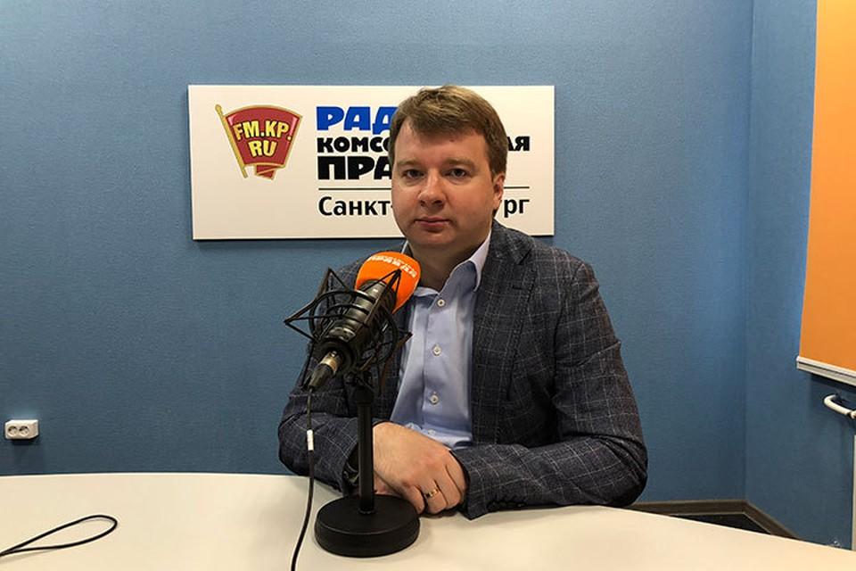 Депутат петербургского ЗакСа Александр Тетердинко.