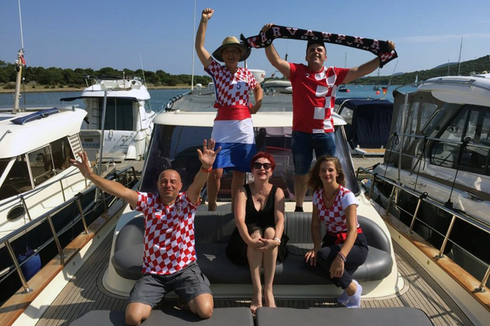Мои хорватские друзья заранее празднуют победу