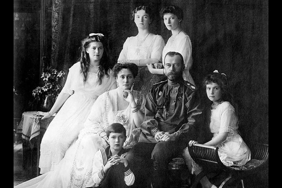 Фото: Романовы. Снимок 1913 года