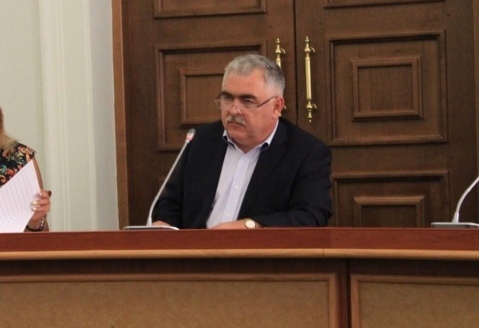 Замглавы администрации Ростова-на-Дону Владимир Сакеллариус уволен