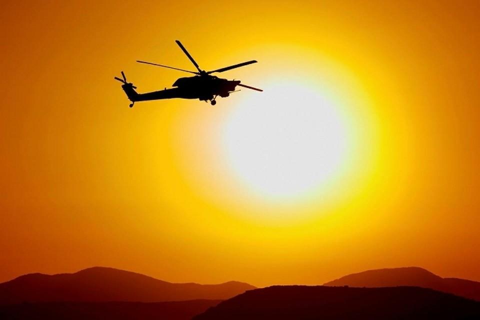 В Финляндии потерпел крушение норвежский вертолет