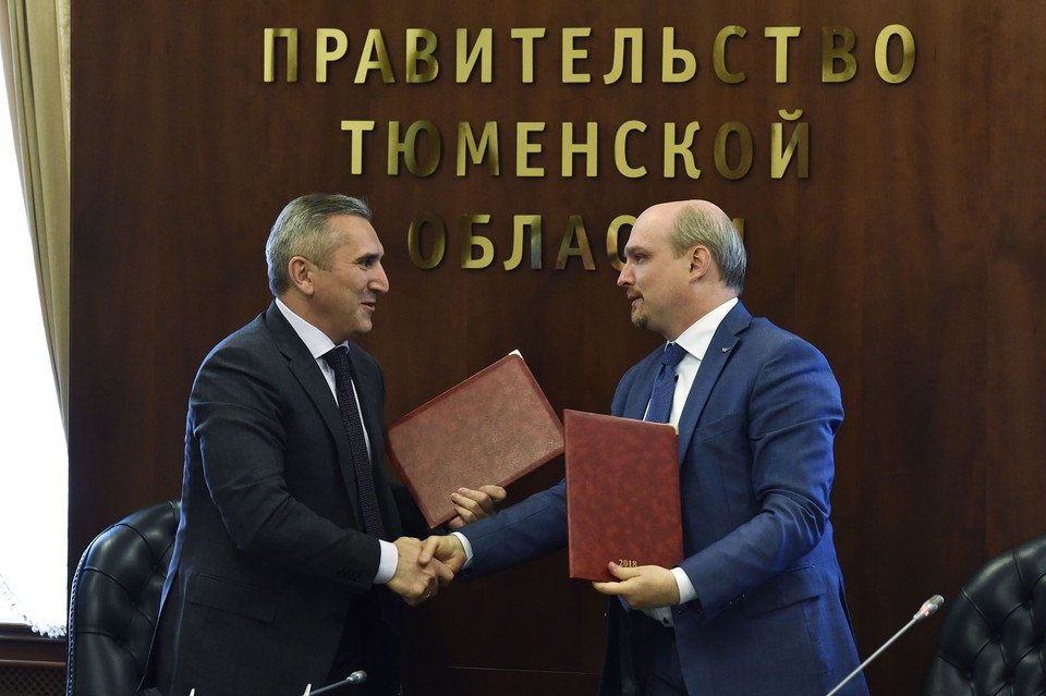 Фото: пресс-службы губернатора Тюменской области.