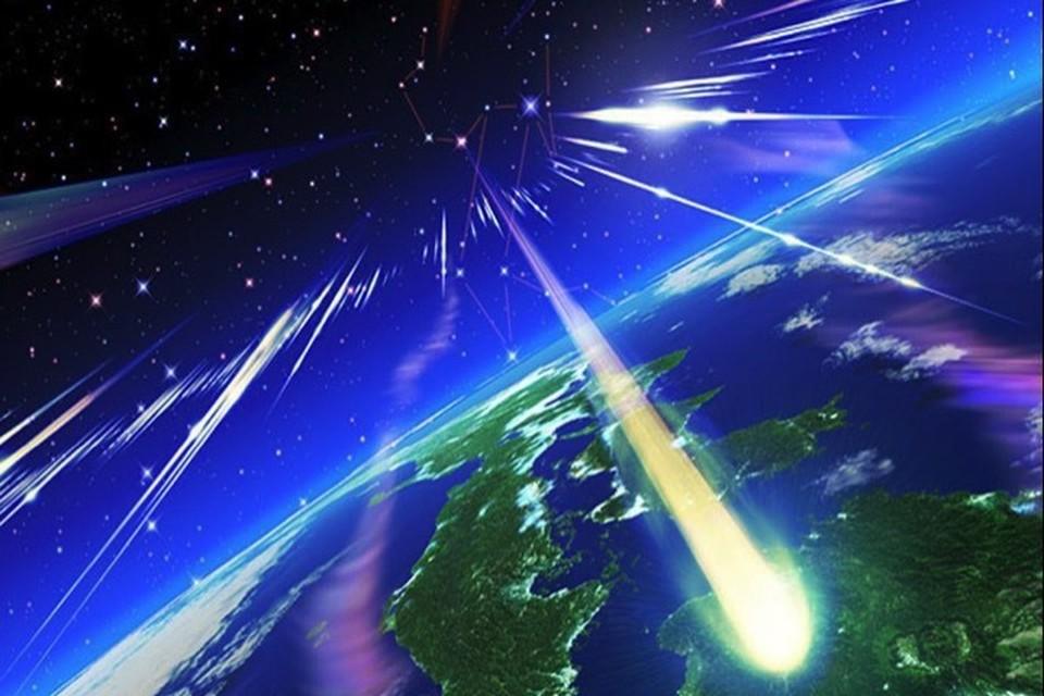 """Первые """"падающие звезды"""" метеорного потока Персеиды ужа начали долетать до Земли."""