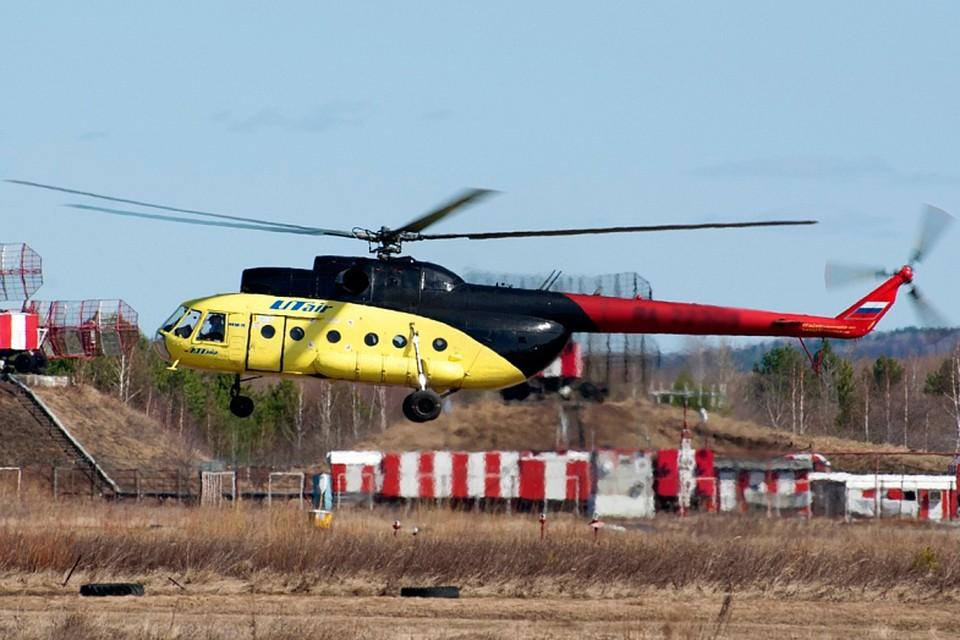 Вертолет МИ-8 компании ЮТэйр. Фото: с официального сайта компании