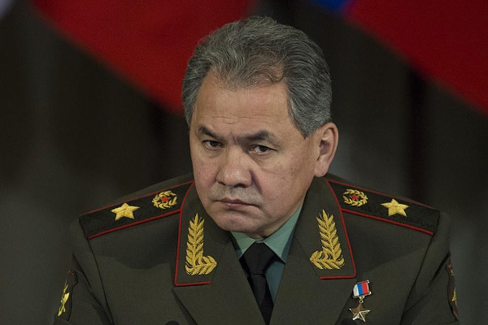 Министр обороны России генерал армии Сергей Шойгу