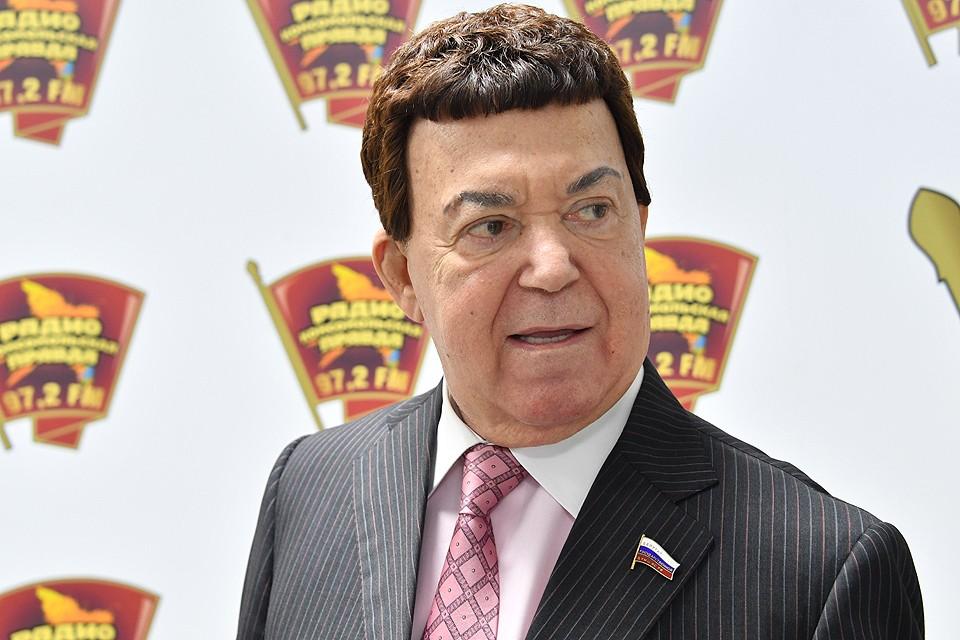 """Иосиф Кобзон в редакции """"Комсомольской правды""""."""