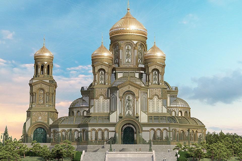 Строить новый храм решено исключительно на пожертвования