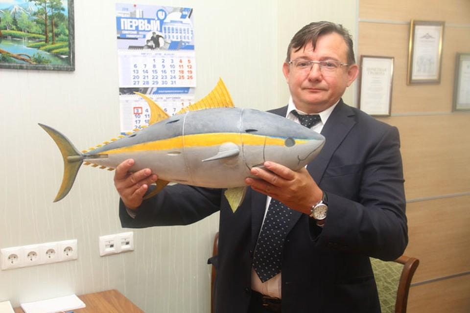 Нижегородские ученые изобрели робота-тунца.