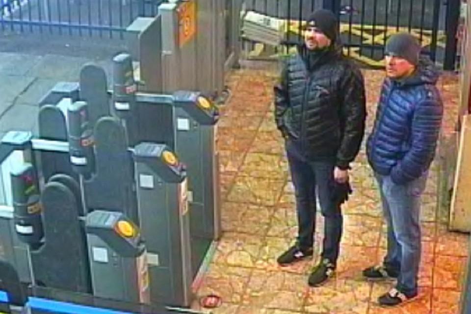Россияне Алексей Петров и Руслан Боширов, объявленные в Британии отравителями Скрипалей.