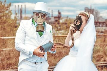 Свадьба в противогазах