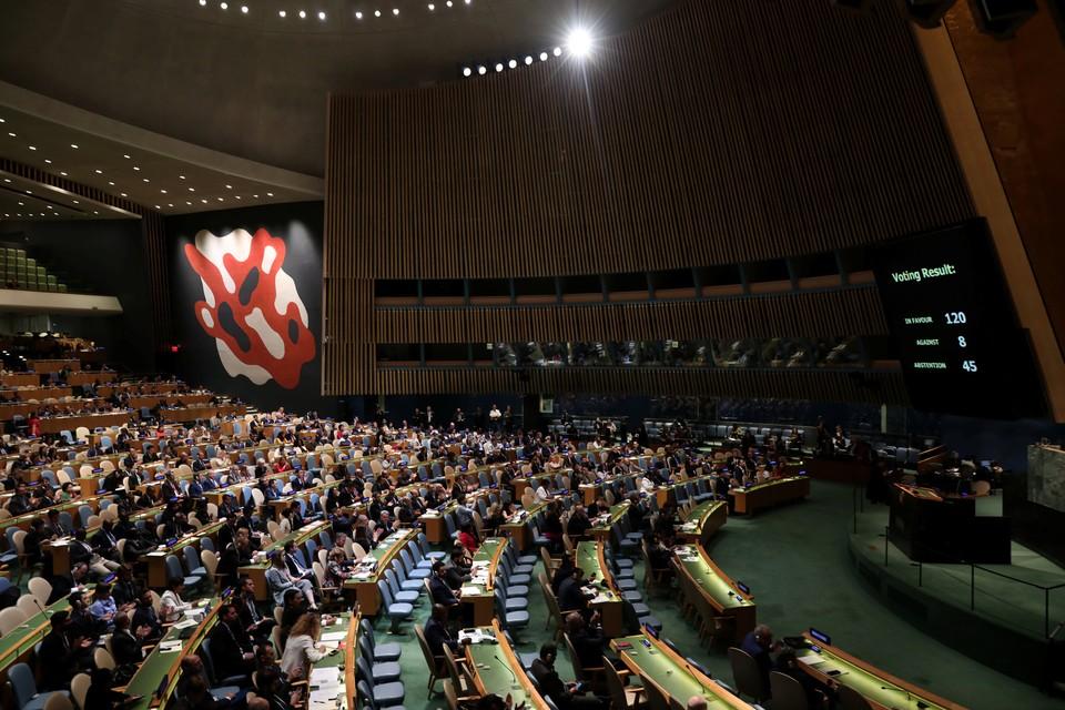 Генассамблея ООН рассмотрит ситуацию на неподконтрольных Киеву территориях