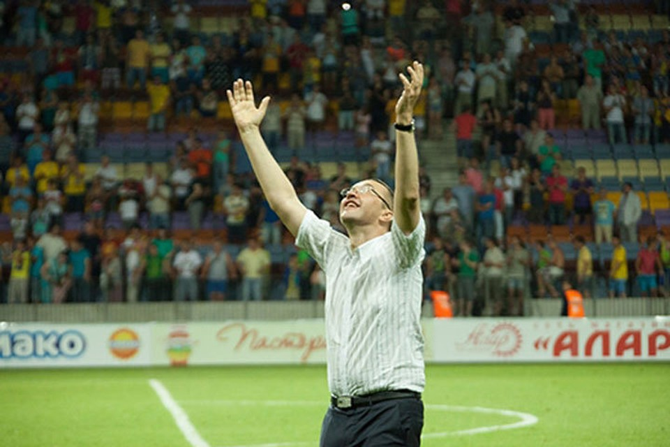 На пути Анатолия Капского было много трудностей, которые он преодолевал с улыбкой. Фото: fcbate.by