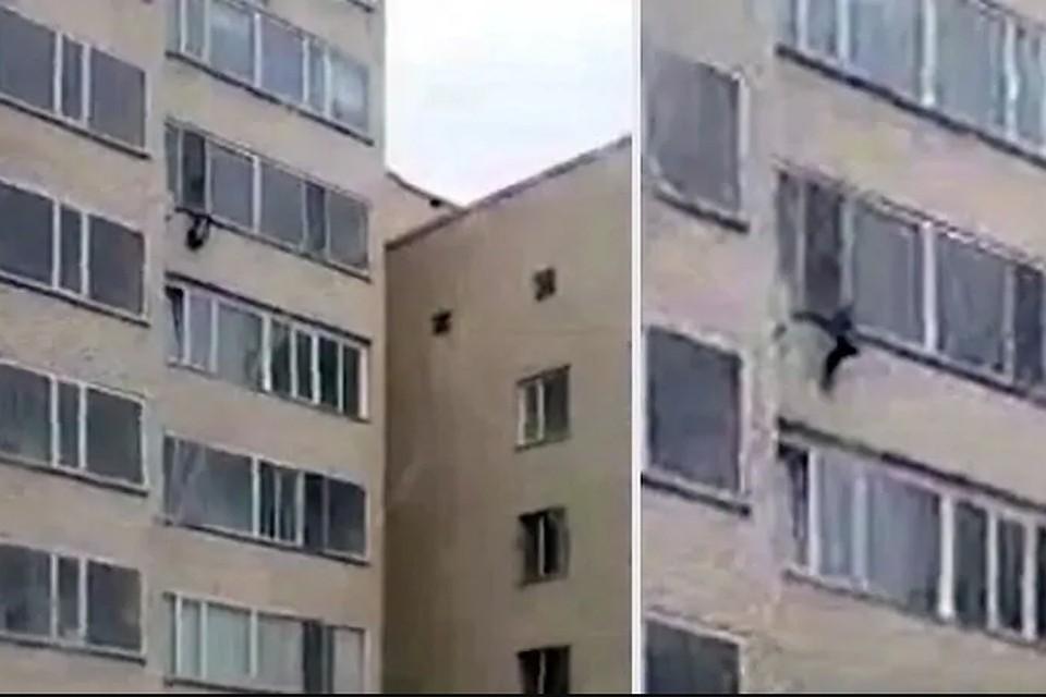 4b5389d9370c Житель Астаны поймал ребенка, упавшего с 10-го этажа жилого дома