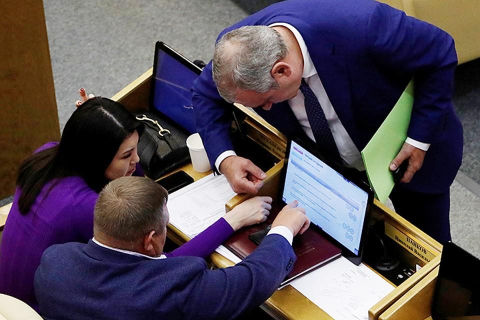 Из присутствовавших 415 депутатов «за» проголосовали 322 человека